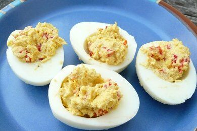 Low Calorie Devil Eggs