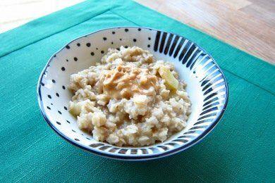 Apple Peanut Butter Oatmeal Recipe