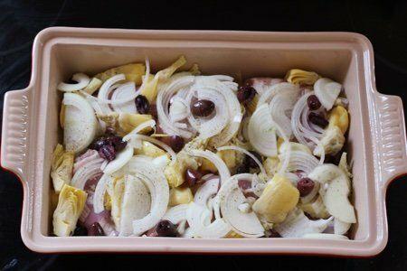 Artichoke Chicken Recipe