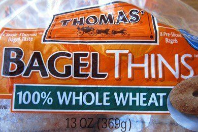 Thomas Bagel Thins Healthy