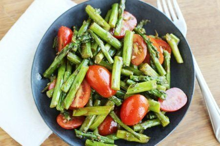 Cold Asparagus Salad Recipe
