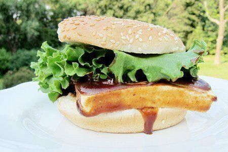 Barbecue Tofu Sandwich Recipe