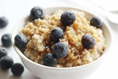 Blueberry Muffin Oatmeal