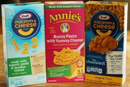 Macaroni and Cheese Box