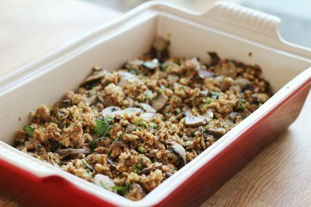 Meatless Thanksgiving Stuffing