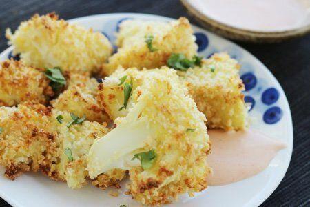 Cauliflower Crunch Bites