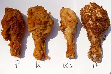 Fried Chicken Rot Experiment