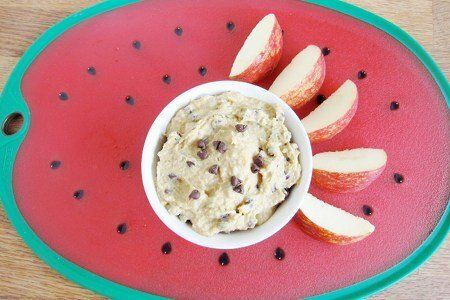 Healthy Cookie Dough Dip Recipe