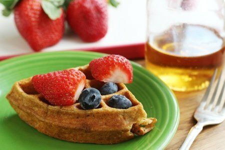 Cottage Cheese Waffle Recipe