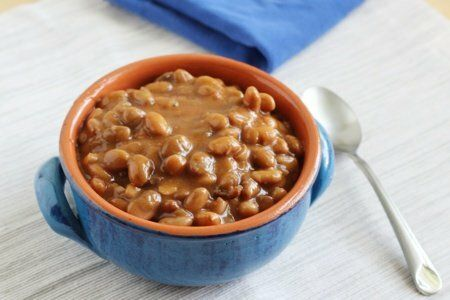 Slow Cooker Baked Beans With Molasses