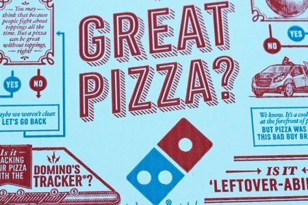 Healthiest Pizza at Dominos