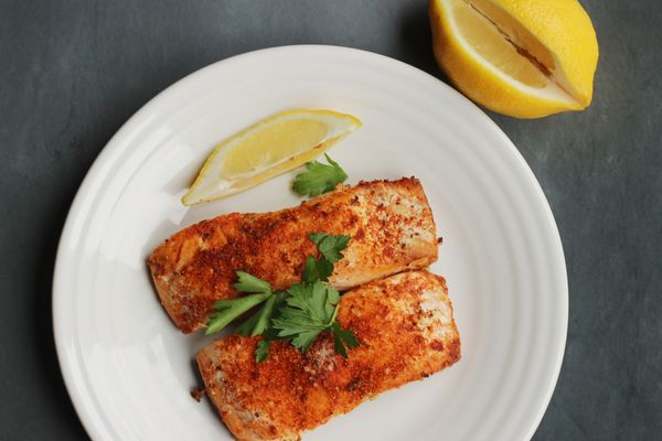 Frozen Salmon in Air Fryer: A Fast Dinner