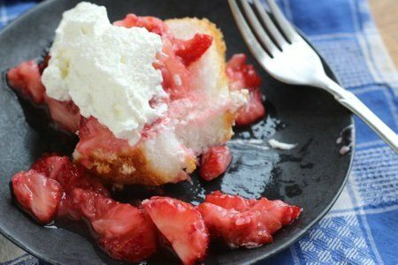 Low Calorie Strawberry Shortcake