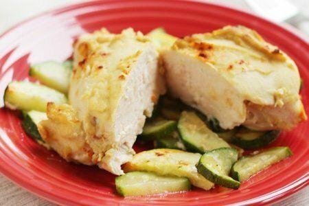 Chicken Breast with Hummus