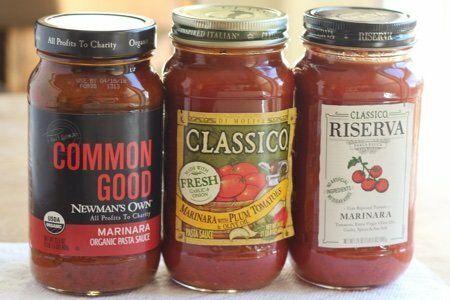Low Sugar Tomato Sauce