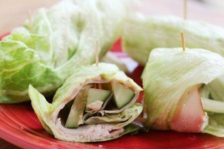 Lettuce Sandwich Wrap