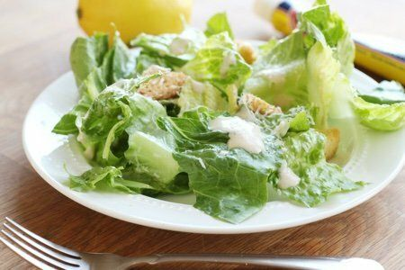 Homemade Caesar Salad Dressing: No Mayo