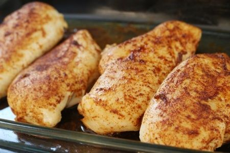 Healthy Baked Chicken Breast