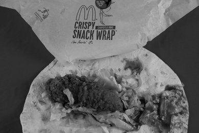 McDonald's Snack Wrap