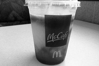 McDonald's Frozen Strawberry Lemonade