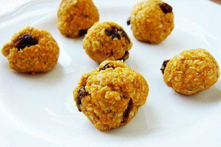 No Bake Pumpkin Oatmeal Cookie