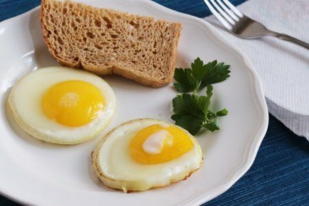 Onion Fried Egg Recipe