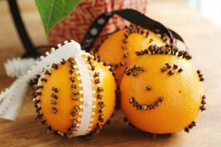 Pomander Balls for Christmas
