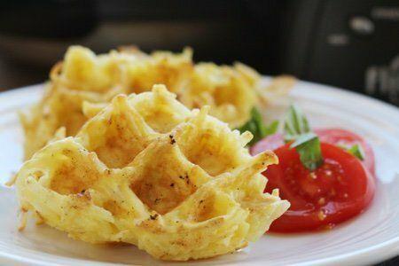 Crunchy Waffle Potato Bites