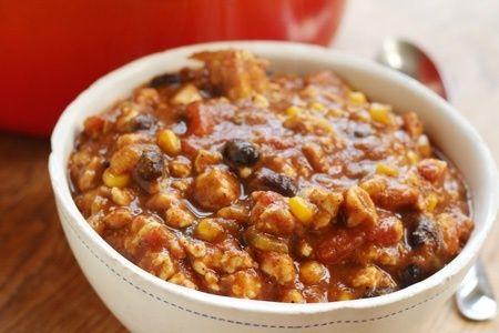 Turkey Pumpkin Chili Recipe