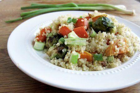 Quinoa Roasted Veggie Salad
