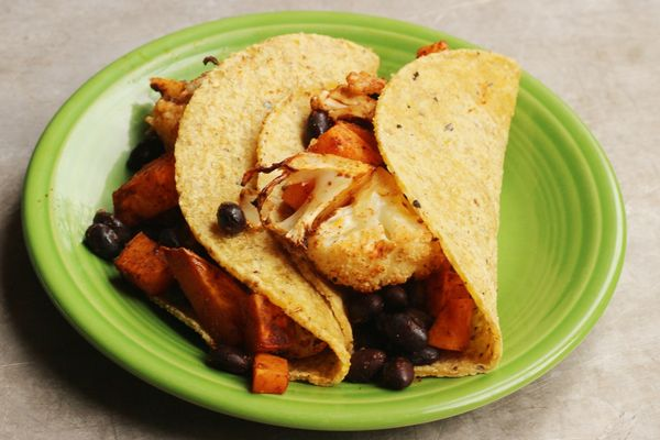 Roasted Vegetable Tacos: Change up Taco Tuesday