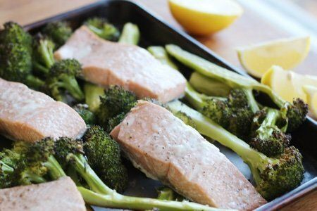 Quick Salmon Dinner