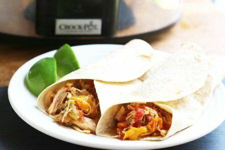 Chicken Fajita Recipe: Slow Cooker