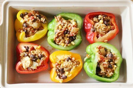 Healthy Stuffed Peppers Recipe