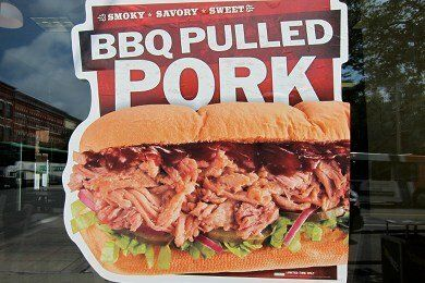 Subway BBQ Pulled Pork Sandwich