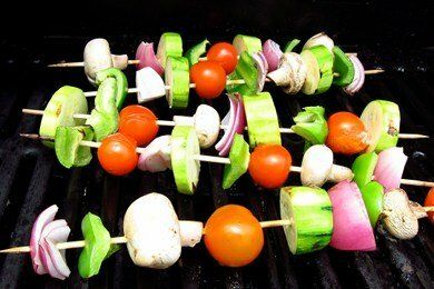 Low Calorie Grilled Vegetables