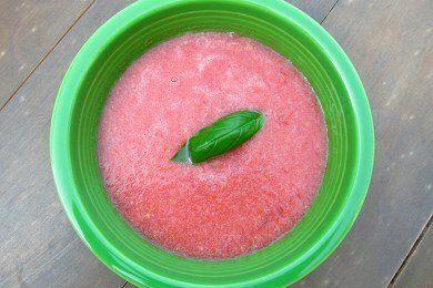 Watermelon Tomato Soup Recipe